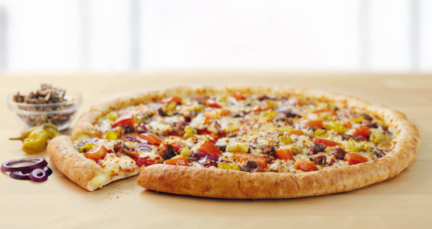 Arabian Pulled Lamb Pizza 2 image
