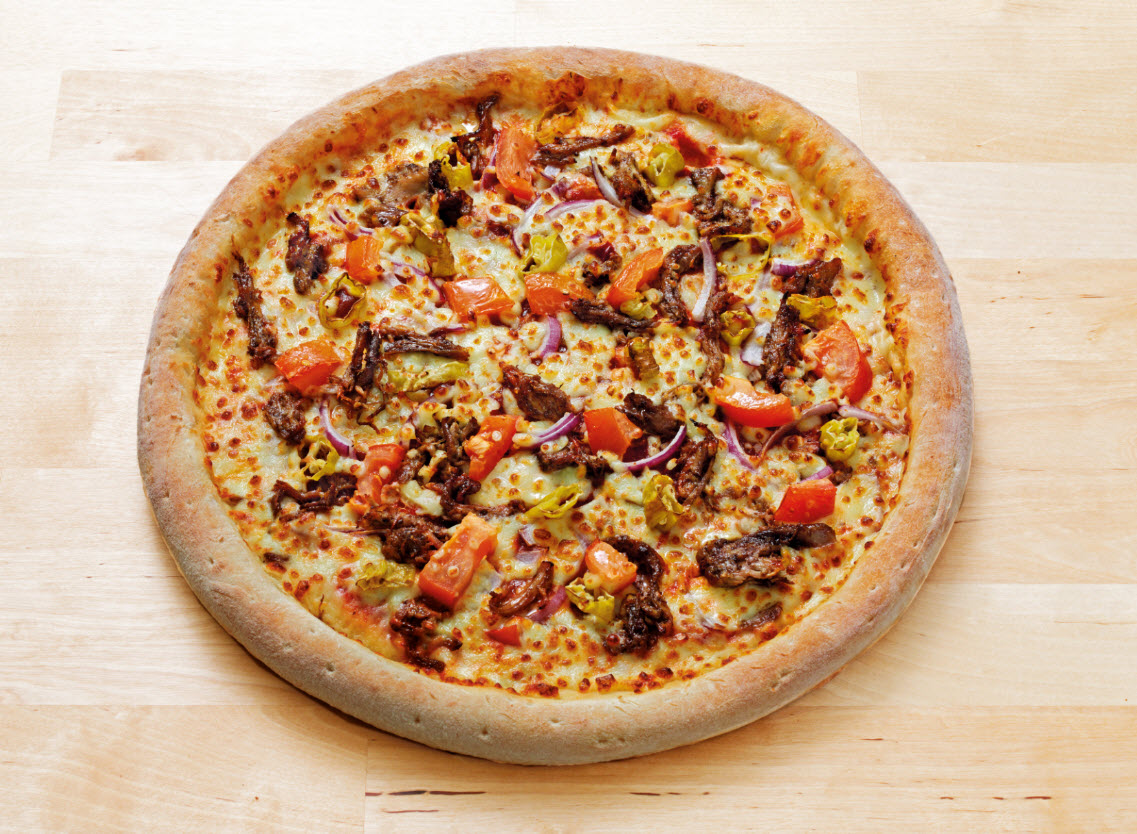Arabian Pulled Lamb Pizza image