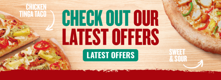 Take Advantage Of Our Fantastic Latest Pizza Offers - Just Click!