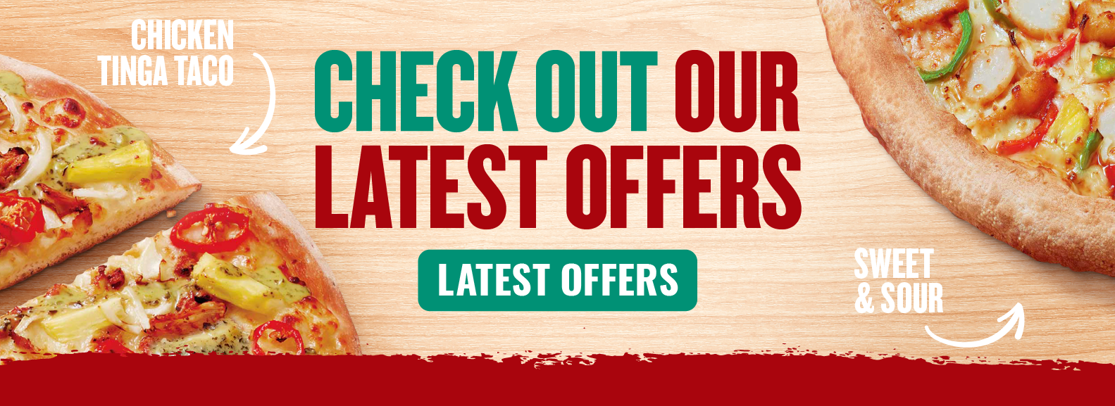 Latest Pizza Offers from Papa John's