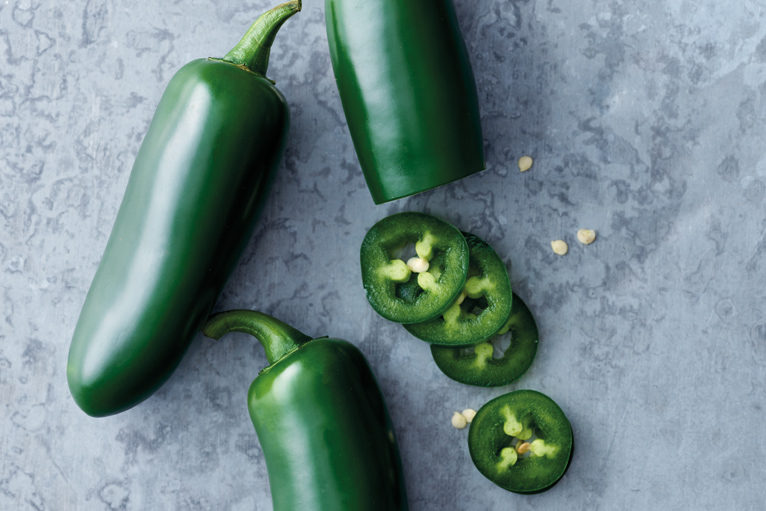 Spicy Green Chilli Toppings