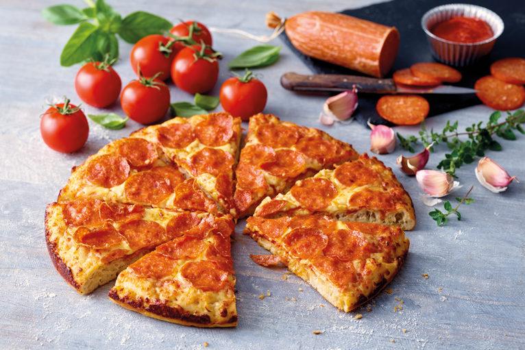 Pepperoni Deep Crust Pizza by Papa John's
