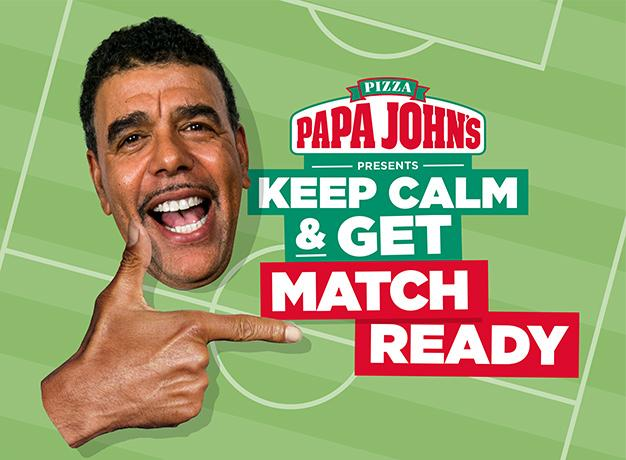 Keep calm & get match ready