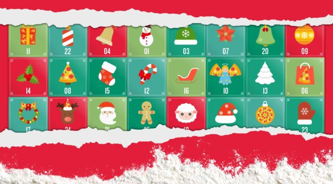 Papa John's Festive Countdown Advent Calendar