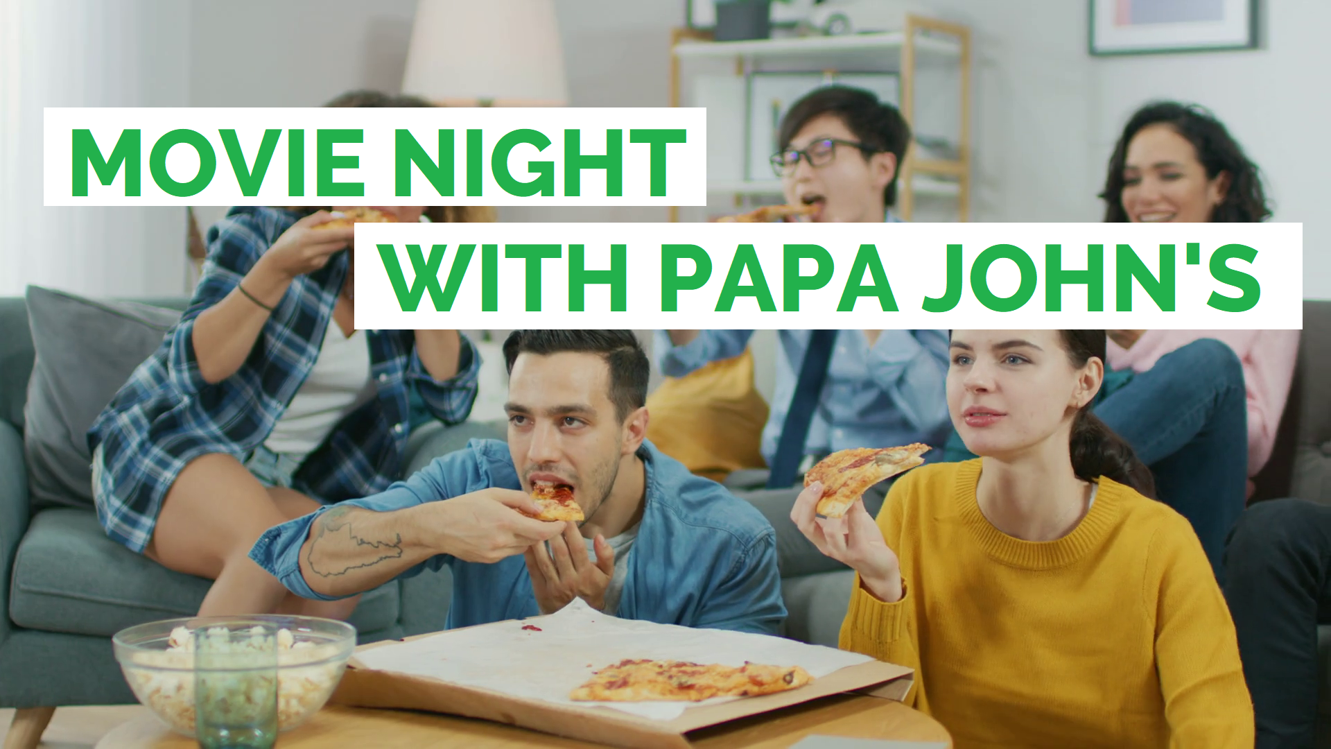 Its Movie Night What Pizza Should I Order Papa Johns