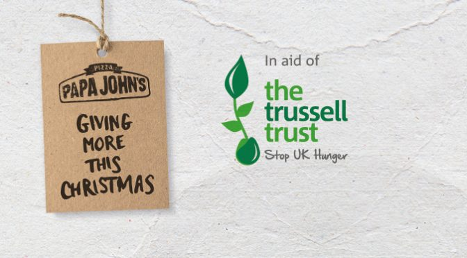 Papa John's Trussell Trust