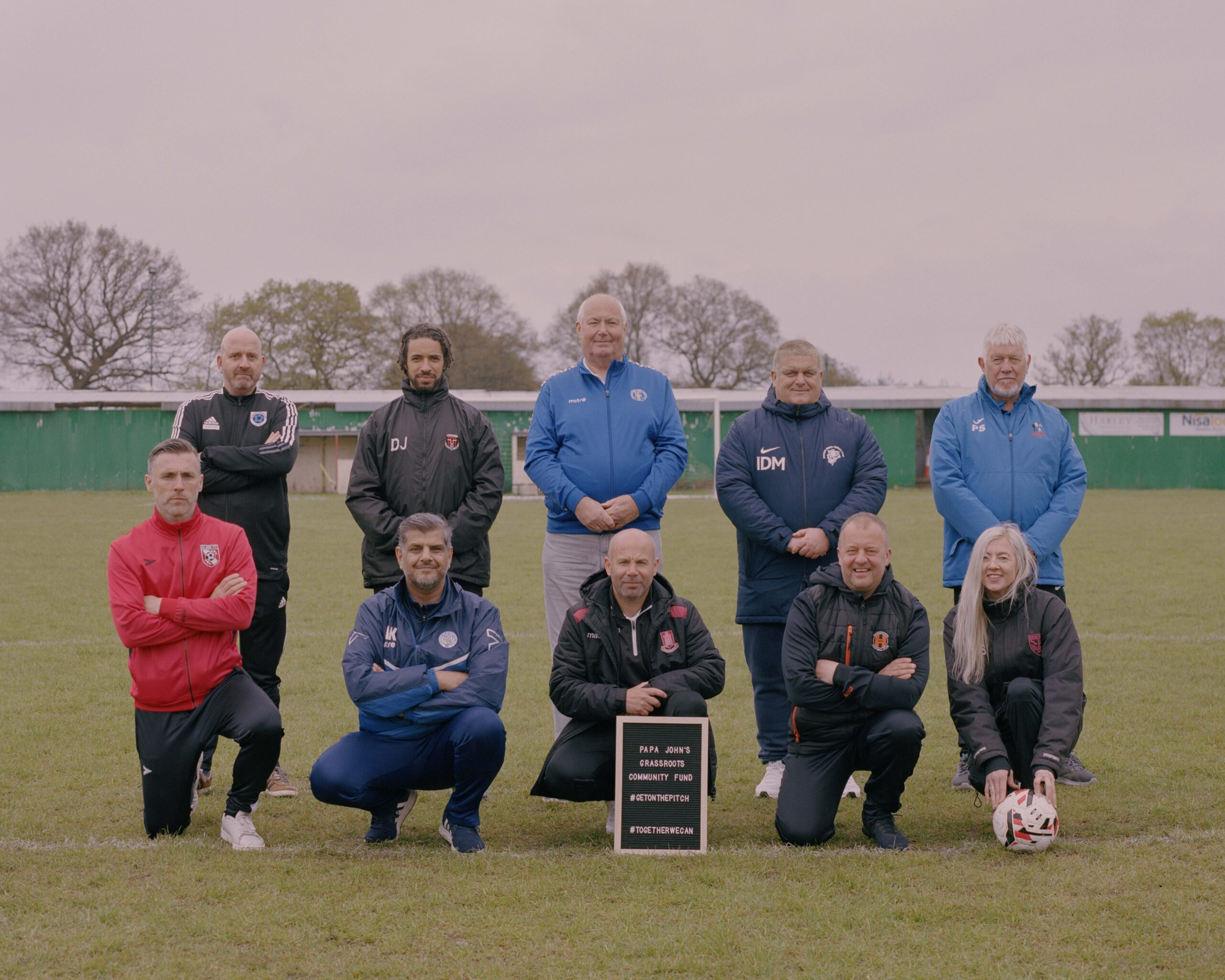Papa John's launches community fund to support grassroots football